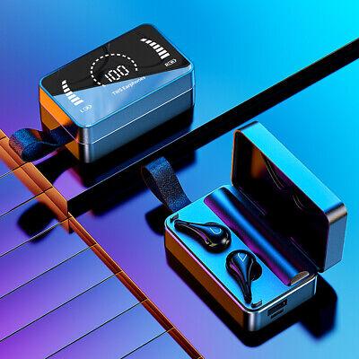 True Wireless Earbuds Bluetooth 5.0 Waterproof Headset Headphones With Mic Case