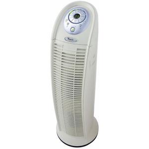 Whirlpool HEPA Tower Air Purifier with 3 Fan Speeds, Timer & VOC Sensor, White