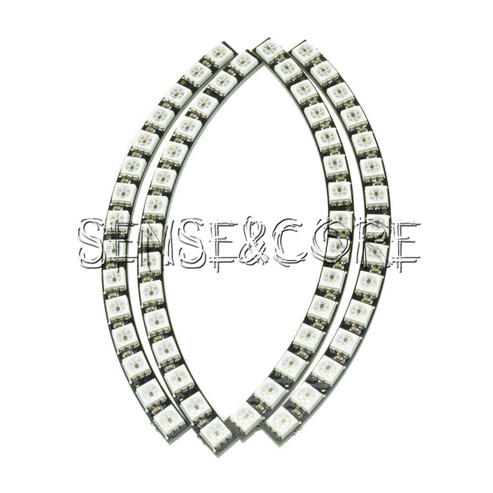 Led lampe ring deptis inspirierendes design fr wohnmbel ring uhr 60 ultra hellen ws2812 5050 rgb led lampe led lampe ring parisarafo Choice Image