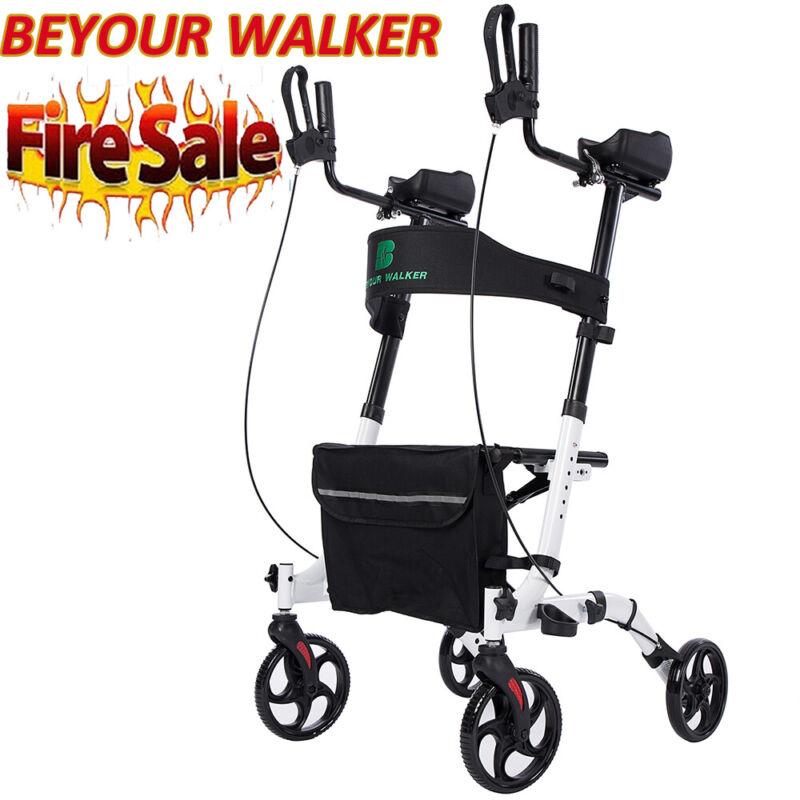 2020 OEM BEYOUR WALKER Upgrade Upright Rollator Walker Medical Aid Stand up USA
