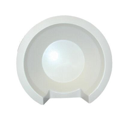 """PolyPlanar 11"""" Speaker Back Cover - White"""