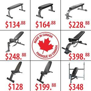 Flat Incline Decline Adjustable Commercial Folding Weight Bench