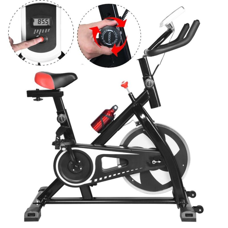 Exercise Bike Fitness Gym Indoor Cycling Stationary Bicycle