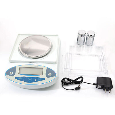 B30002T Analytical Balance Lab laboratory Digital Scale 6.6lb 3000g/0.01g White