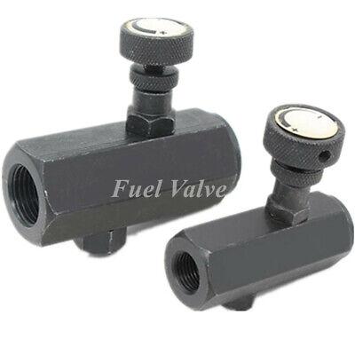 Control Valve 38 Npt Steel Fluid Flow Pressure Regulating Throttle Valve
