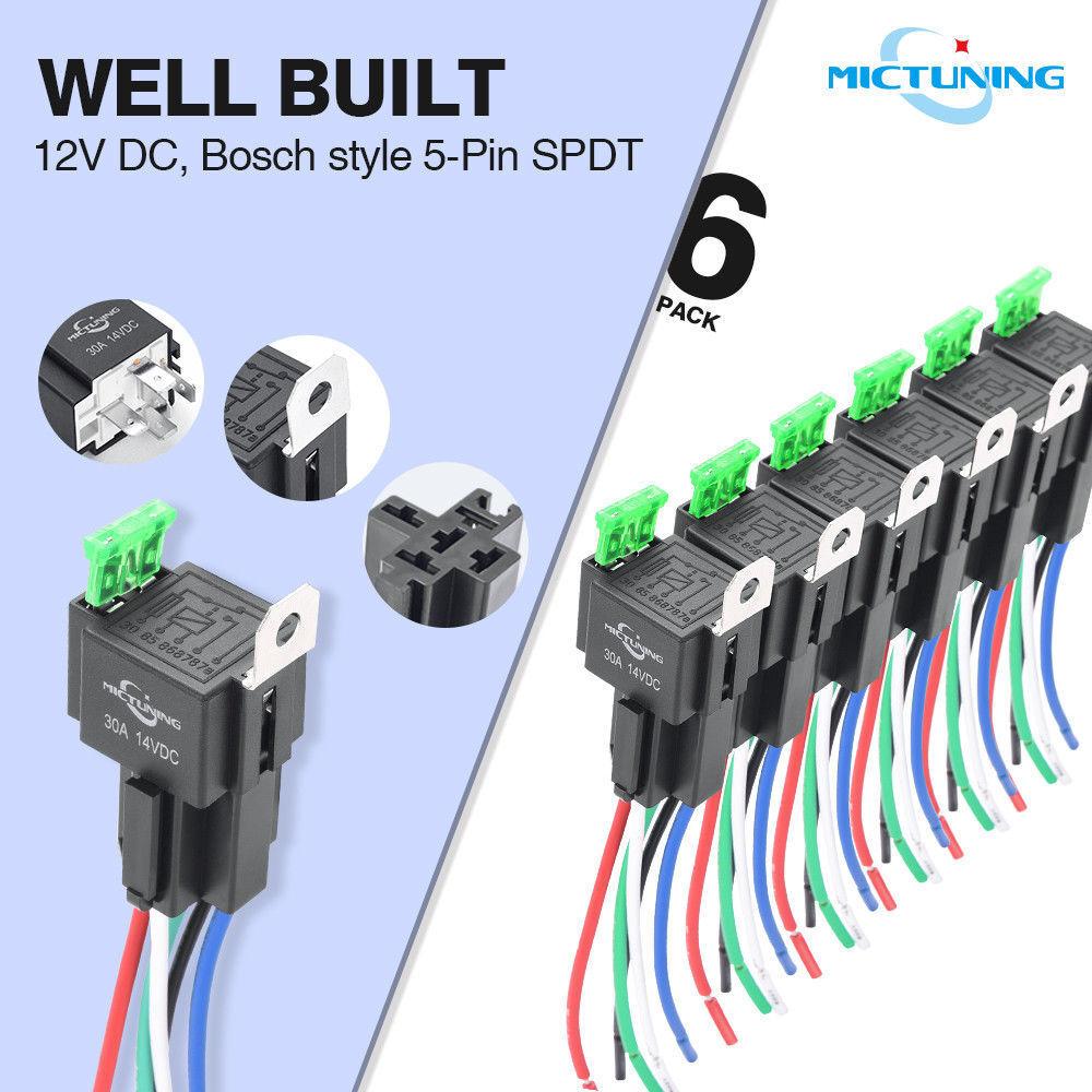 2x40 Amp Amplifier Circuit Breaker Fuse Holder for Stereo//Audio//Car//RV