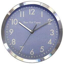 10027129 Geneva Clock Company 10 Metal Analog Wall Clock