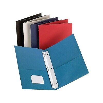 Staples 2-pocket Folder With Fasteners Assorted 905754