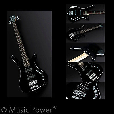 Warwick Rockbass Corvette Basic 4 String Bass Guitar Passive Black Short Scale on Rummage