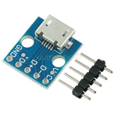 5pcs Micro Usb Board Power Adapter 5v Breakout Switch Interface Module F Arduino
