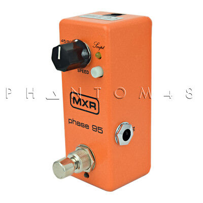 Dunlop MXR - M290 - Phase 95 - Mini Phaser Effects Pedal - NEW