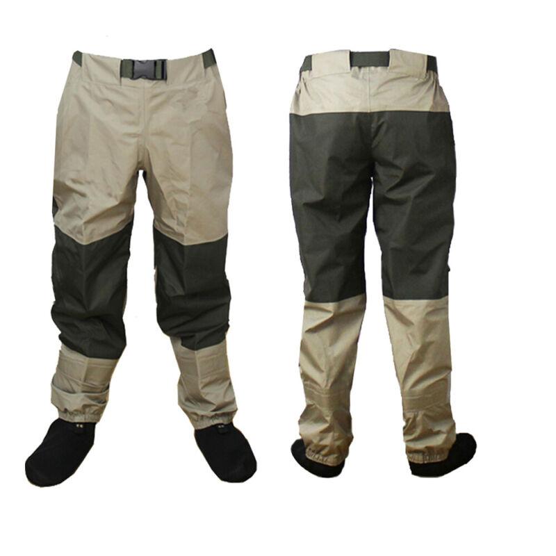 Breathable Waterproof Fly Fishing Waist Waders Stockingfoot High Wader Pants