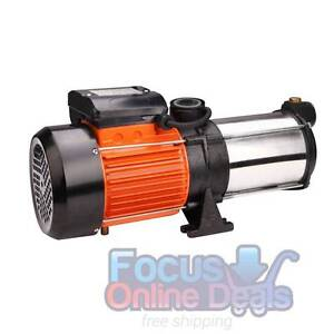 5 Stages Stainless Steel Pressure Pump 1800W 12600L/H Melbourne CBD Melbourne City Preview
