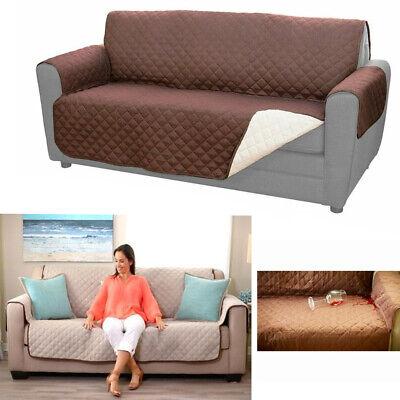 Copri divano reversibile protezione peli cane gatti sofa coat doppio colore casa