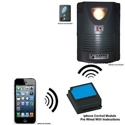 Iphone Remote Control Fits GLIDEROL Glidermatic GRD Roller Door Opener TM-305C