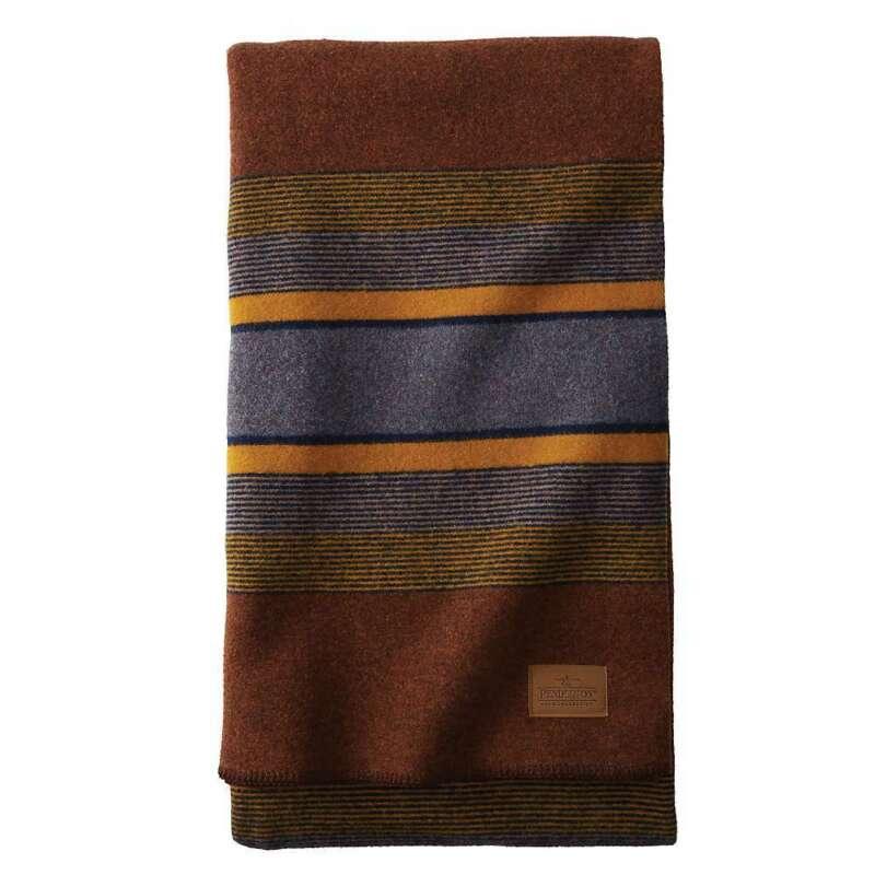 Pendleton Yakima Twin Blanket With Carrier - High Ridge