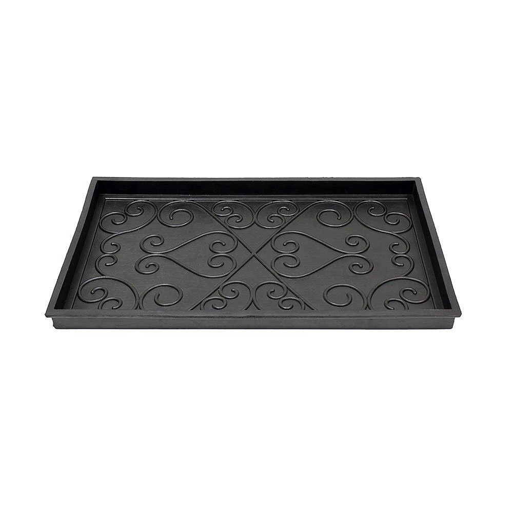 Mintueman-Achla BT-01L Scrollwork Rubber Boot Tray Large