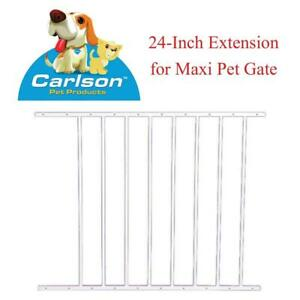 NEW Carlson Pet Products 1024EW 24-Inch Extension for Maxi Pet Gate Condtion: New