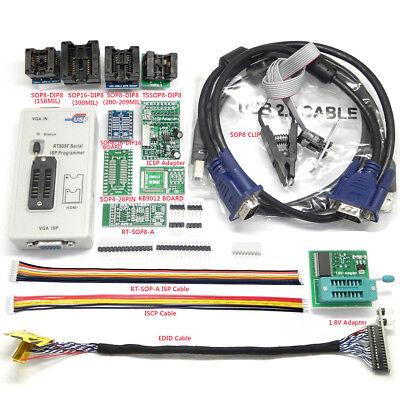 Rt809f Eprom Flash Vga Isp Usb Programmer For Kb9012qf Motherboard Lcd Repair