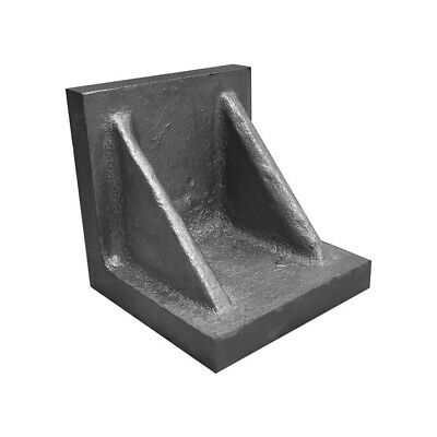 3 X 3 X 3 Machined Ground Angle Plate Webbed End Cast Iron