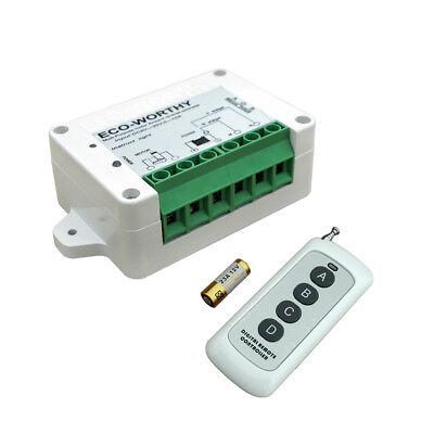 Dc1224v Wireless Remote Linear Actuator Motor Controller Kit Door Auto Opener