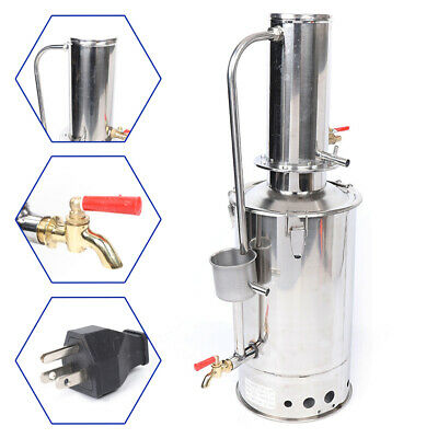 5lh Stainless Steel Water Filter Water Distillation Laboratory Pure Water Tool