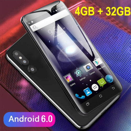 "Android Phone - Cheap Unlocked 5.0"" Android 6.0 Mobile Smart Phone Quad Core Dual SIM GPS 3G New"