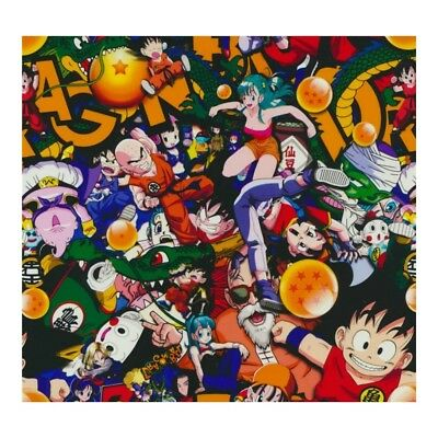 Hydrographic Water Transfer Hydro Dipping Film Anime Bomb 1m