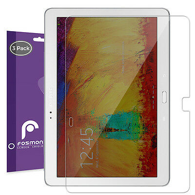Fosmon 3x HD Clear Screen Protector Guard Film for Samsung Galaxy Note 10.1 2014