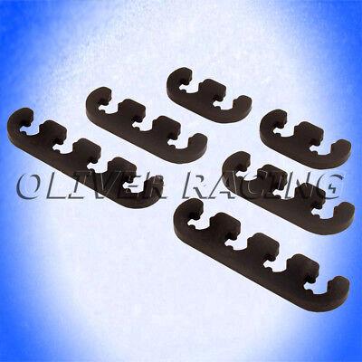 Zündkabel ZÜNDKABELABSTANDSHALTER 7-8 mm schwarz V8 V6 Zündkabelhalter universal