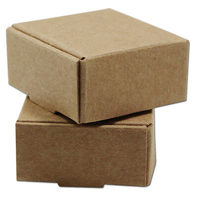 Multi-sizes Kraft Paper Food Box Brown Small Size Gifts Shipping Packaging Boxes