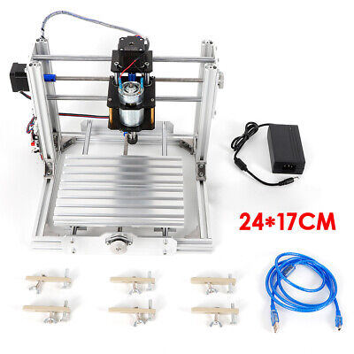Usb Port Milling Machine Cnc Router Kit Engraving Wood Carving Engraver 2417
