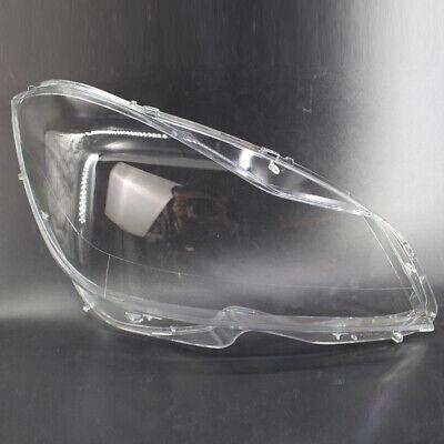 Headlight Lens Cover Fit for Mercedes Benz C Class W204 2011-2015 Best
