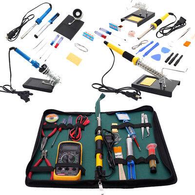 110v Smd Electric Rework Solder Soldering Iron Welder Kit For Cellphone Repair