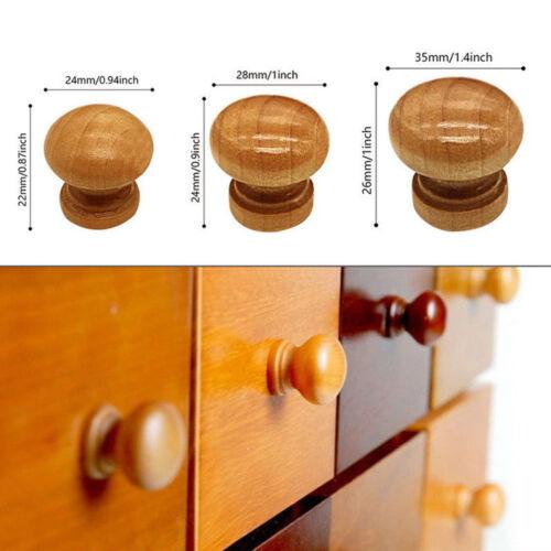 Bamboo Cabinet Handle Kitchen Cupboard Closet Furniture Drawer Dresser Pull Knob