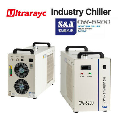 Sa Cw-5200 Industry Water Chiller 110v 60hz For Laser Cutting 2 Years Warranty
