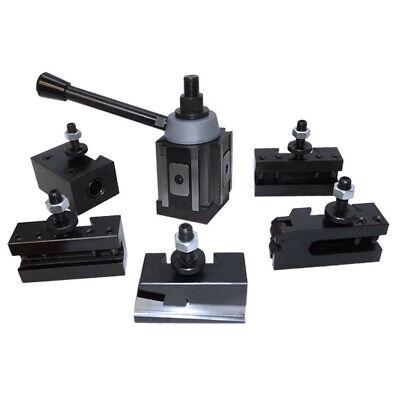 6-12 Wedge Type Quick Change Tool Post Set Fr Aloris 100 Axa Lathe