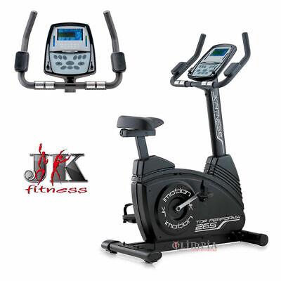 JK FITNESS Cyclette TOP PERFORMA JK 265 - Elettromagnetica, Volano 10Kg - JK265