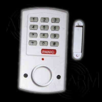 ALARMANLAGE mit Code Tür- und Fensteralarm HAUSALARM Alarm Türalarm Alarmsirene