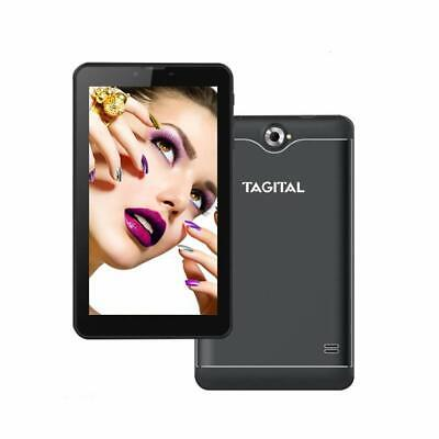 "Tagital 7"" Quad Core Android Tablet 3G Phablet,  Android 6.0, 2 SIM Dual Camera"