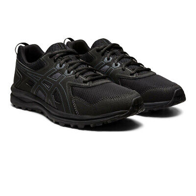 Asics Mens Trail Scout Running Shoes Trainers Sneakers - Black Sports Breathable
