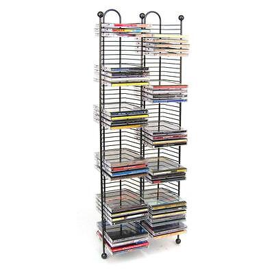Atlantic Nestable 100 CD Tower - Holds 100 CDs, Efficient Sp