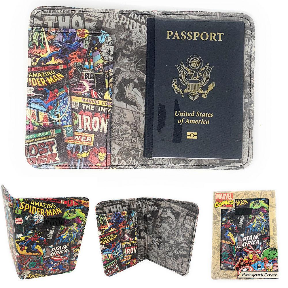 Marvel Passport Holder