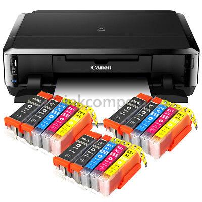CANON Pixma IP7250 Tintenstrahldrucker DRUCKER FOTODRUCKER CD-BEDRUCK 15x XL