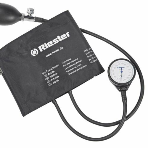 Riester Sphygmomanometer Blood Pressure w/ Adult Cuff LF1350 tensiometro riester