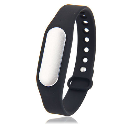 Hot Bluetooth Sport Smart Sleep Monitor Bracelet Phone for xiaomi Mi Band Black
