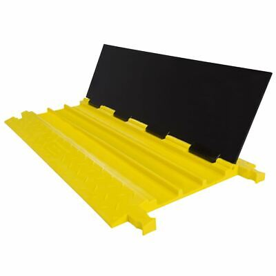 Guardian Cable Protector Ramp 3-channel 24000 Lb Dog-bone Modular Poly Cp-3p-24