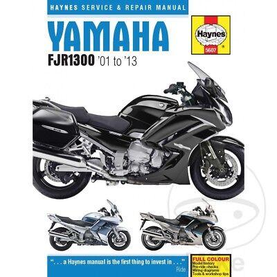 <em>YAMAHA</em> FJR 1300 A ABS 2003 HAYNES SERVICE REPAIR MANUAL 5607