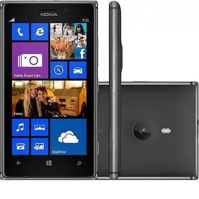 NOKIA LUMIA 925 - Black / White - Unlocked, O2, EE, Voda - Smartphone Mobile