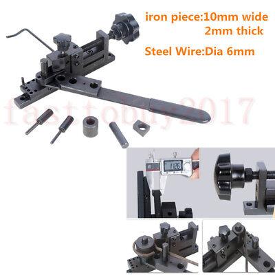 Metal Bending Machine Manual Diy Press Brake For Making Metal Tube Pipe Bar Mode
